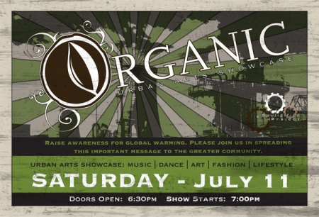 ORGANIC: Urban Arts Showcase 07.11